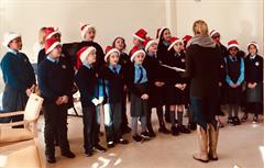 Choir visit to Tallaght Hospital