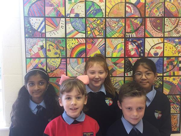 Pupils Of The Month for September