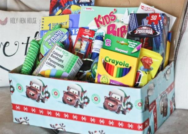 Christmas Shoebox Appeal 2018