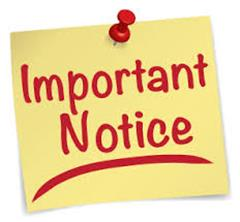 Important Notice: Staff Meeting and Parent Teacher Meetings