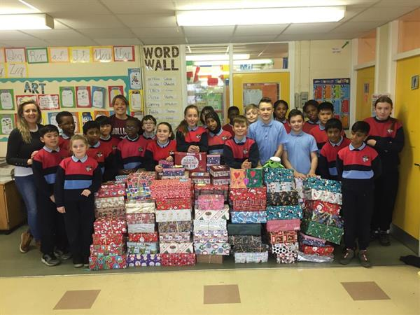 Team Hope Shoebox Appeal Success!