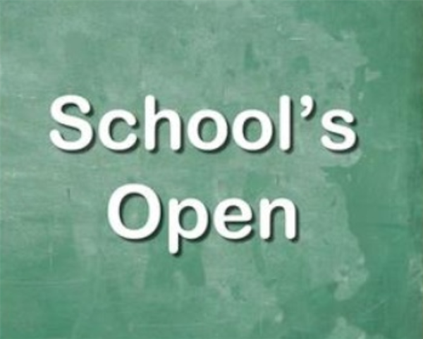 Schools Reopen Wednesday 7th of March