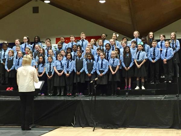The Choir go to Córfhéile!