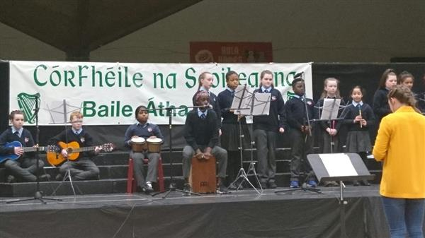 A stunning performance by the band at Córfhéile!